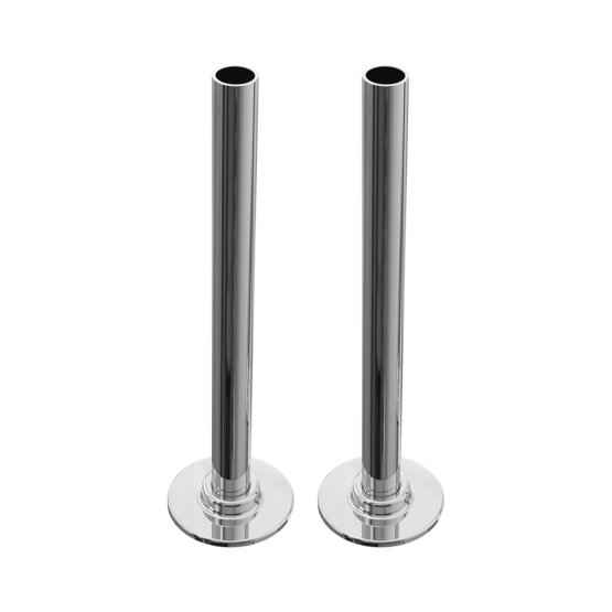 180mm Tube with Plates 1 x Pair