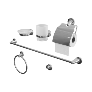 6Pcs/Set Bathroom Accessories