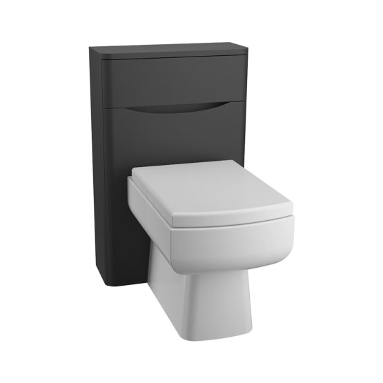 BALI Matt Black WC Unit
