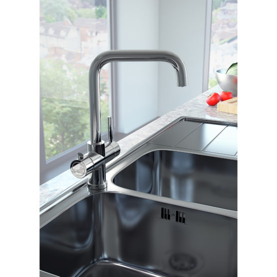 Boiling Water Kitchen Tap with Boiler and Filter