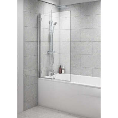 8mm Reversible Easy Clean Bathscreen 800x1400mm