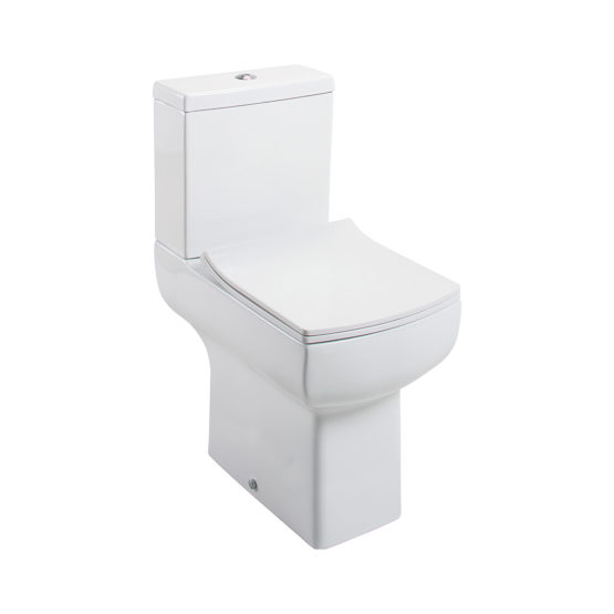 Daisy Lou Comfort Height CC Pan and Cistern with QR Seat (Slim Style Seat)