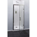 Easy Clean 900mm x 1850mm Hinged Door 6mm Glass Cam and Dowel Fit 1