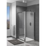 Easy Clean 700mm x 1850mm Hinged Door 6mm Glass Cam and Dowel Fit 1