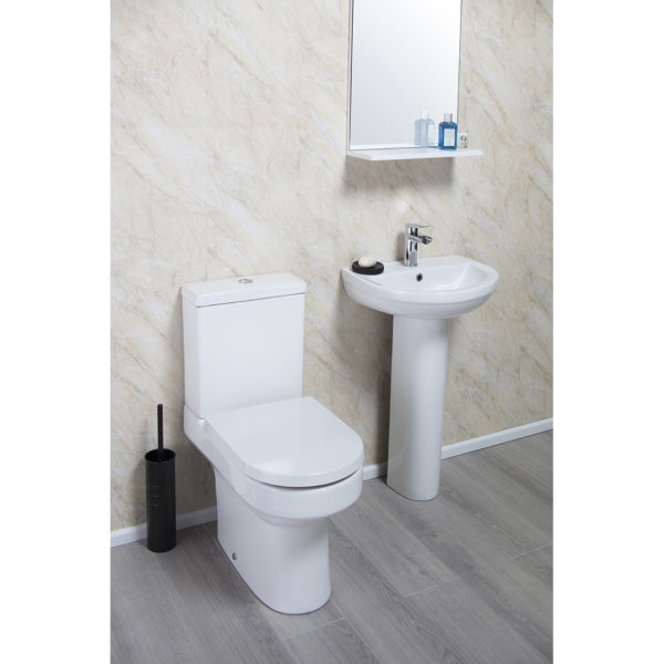 Montego Comfort Height CC Pan and Cistern without Seat