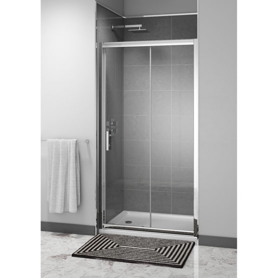 Easy Clean 1000mm x 1850mm Sliding Door 6mm Glass Cam and Dowel Fit