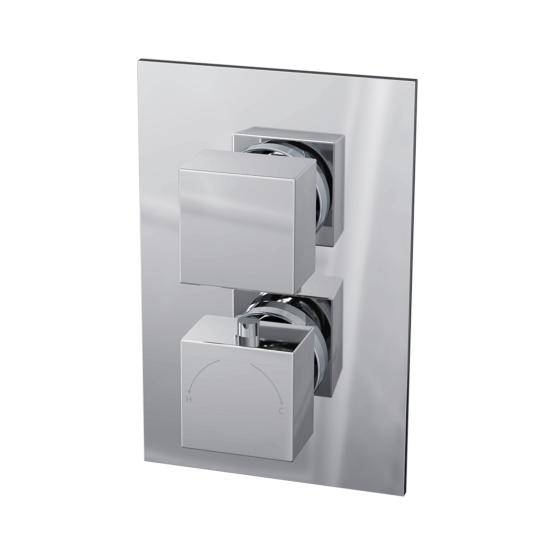Istria Twin Square Concealed Valve