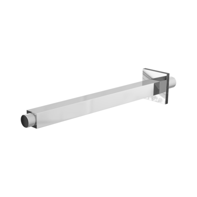Ceiling Mounted Vertical Square Arm