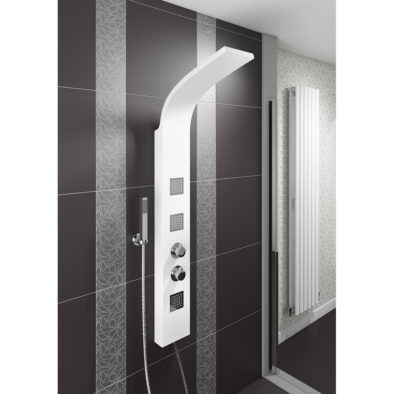 White ABS Shower Panel