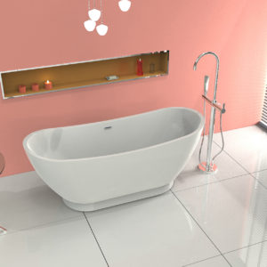 Freestanding Bath Shower Mixer Taps
