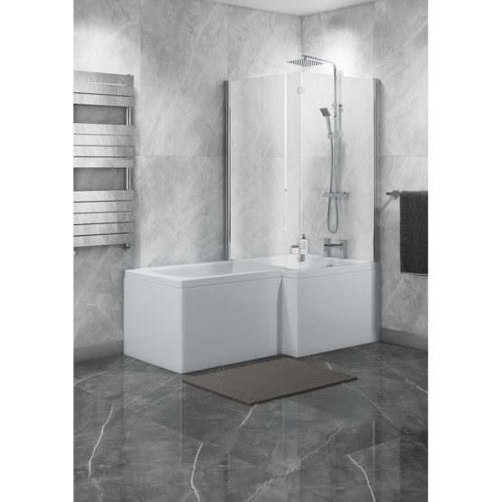 Halle 1500mm RH L Shape Bath Kit